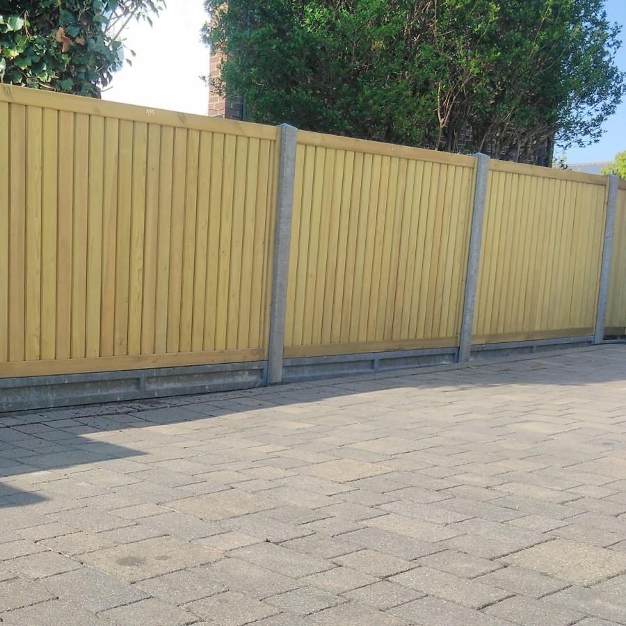 Bespoke Modern Slat Fencing Fencing Oilcanfinish