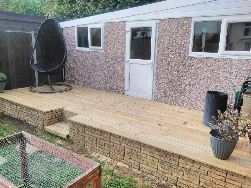 Pressure Treated Timber Decking