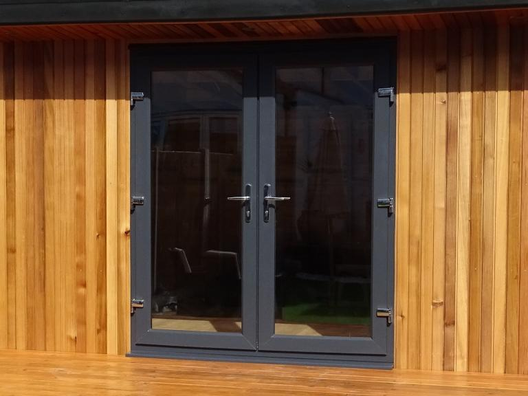 Summerhouse Double Glazed UPVC Doors