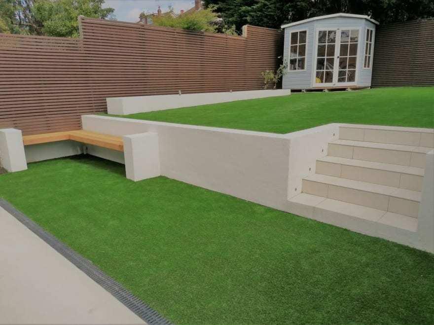 London Modern Landscaping KT3 Oilcanfinish