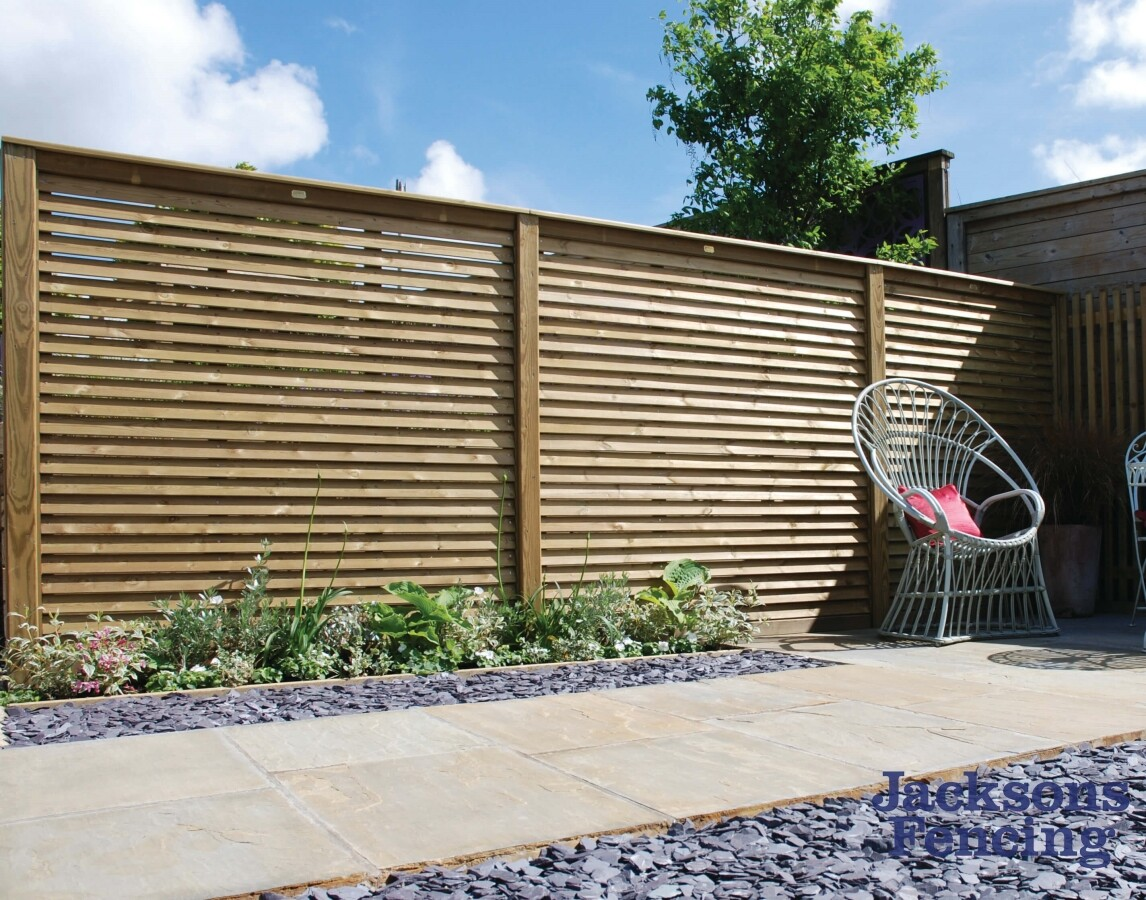 Jacksons Fencing Louvre Fence Panels