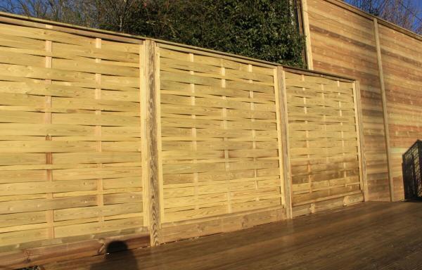 Jacksons Fencing Interwoven Aran Fence Panels