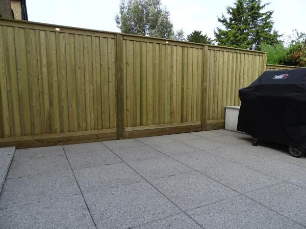 Fencing Replacement Project in Surbiton Oilcanfinish Landscaping