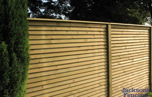 Jacksons Fencing Louvre Contemporary Fence Panels