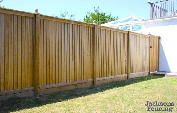 Jacksons Fencing Flat Top Tongue And Groove Fence Panels