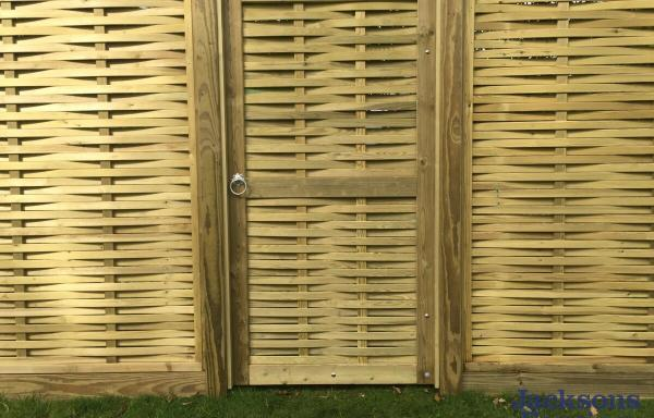 Jacksons Fencing Woven Gate